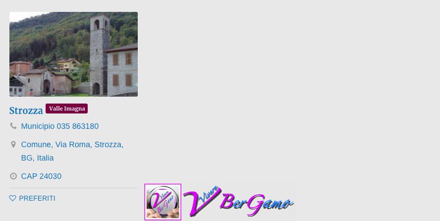 Comuni Valle Imagna
